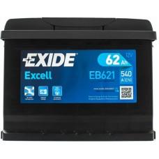 Автомобильный аккумулятор Exide 6СТ-62 L+ Excell