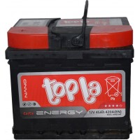 Автомобильный аккумулятор Topla 6СТ-45 L+ Energy