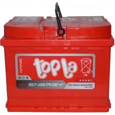 Автомобильный аккумулятор Topla 6СТ-60 L+ Energy