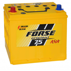 Автомобильный аккумулятор Forse 6СТ-75 L+ Original
