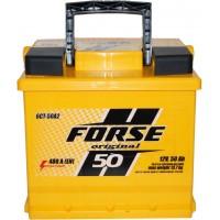 Автомобильный аккумулятор Forse 6СТ-50 L+ Original