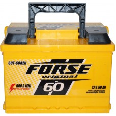 Автомобильный аккумулятор Forse 6СТ-60 L+ Original