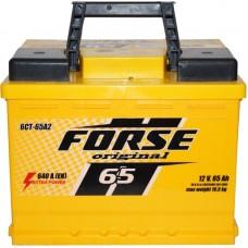 Автомобильный аккумулятор Forse 6СТ-65 L+ Original