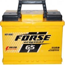 Автомобильный аккумулятор Forse 6СТ-65 R+ Original