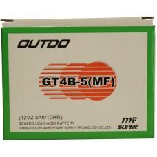Мото аккумулятор Outdo GT4-B5 AGM