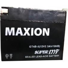 Мото аккумулятор Maxion GT 4B-5 AGM