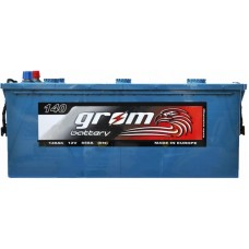 Грузовой аккумулятор Grom 6СТ-140L+ Premium