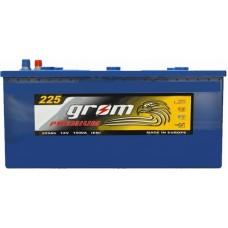 Грузовой аккумулятор Grom 6СТ-225L+ Premium