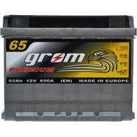 Автомобильный аккумулятор Grom 6СТ-65R+ Premium