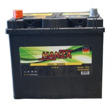 Автомобильный аккумулятор Hanza 6СТ-65 L+ Jis Gold