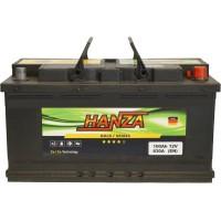 Автомобильный аккумулятор Hanza 6СТ-100 R+ Gold