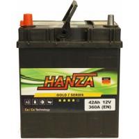 Автомобильный аккумулятор Hanza 6СТ-42 L+ Jis Gold