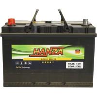 Автомобильный аккумулятор Hanza 6СТ-95 L+ Jis Gold