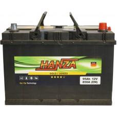 Автомобильный аккумулятор Hanza 6СТ-95 R+ Jis Gold
