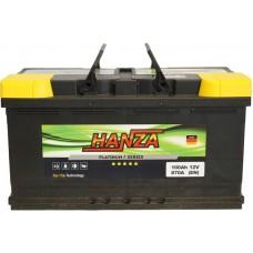 Автомобильный аккумулятор Hanza 6СТ-100 R+ Platinum
