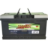 Автомобильный аккумулятор Hanza 6СТ-110 R+ Platinum