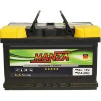 Автомобильный аккумулятор Hanza 6СТ-75 R+ Platinum