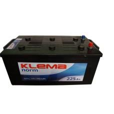 Грузовой аккумулятор Klema 6СТ-225 L+