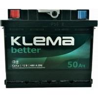 Автомобильный аккумулятор Klema 6СТ-50 L+