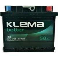 Автомобильный аккумулятор Klema 6СТ-50 R+