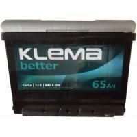 Автомобильный аккумулятор Klema 6СТ-65 R+