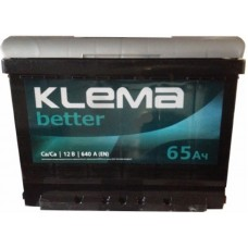 Автомобильный аккумулятор Klema 6СТ-65 L+