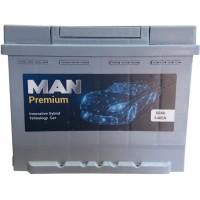 Автомобильный аккумулятор MAN 6СТ-60 L+ Premium