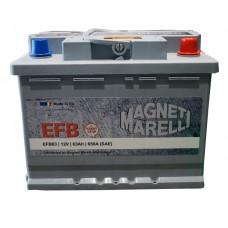 Автомобильный аккумулятор Magneti Marelli 6СТ-63 R+ EFB Start Stop