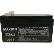 Промышленный аккумулятор Maxion 6СТ-1,3 12V