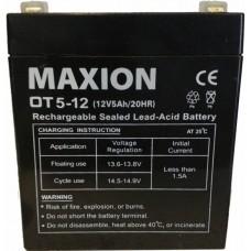 Промышленный аккумулятор Maxion 6СТ-5 12V