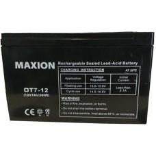 Промышленный аккумулятор Maxion 6СТ-7 12V