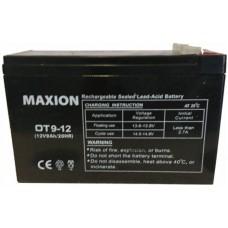 Промышленный аккумулятор Maxion 6СТ-9 12V