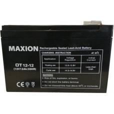 Промышленный аккумулятор Maxion 6СТ-12 12V