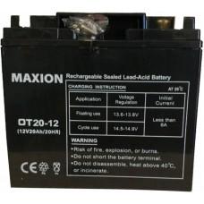 Промышленный аккумулятор Maxion 6СТ-20 12V