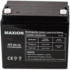 Промышленный аккумулятор Maxion 6СТ-33 12V
