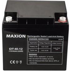 Промышленный аккумулятор Maxion 6СТ-40 12V