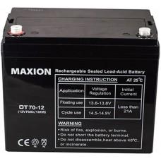 Промышленный аккумулятор Maxion 6СТ-70 12V