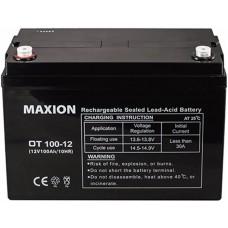 Промышленный аккумулятор Maxion 6СТ-100 12V