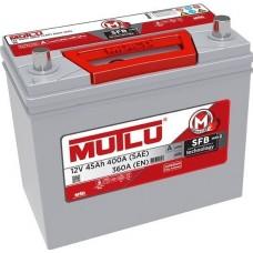 Автомобильный аккумулятор Mutlu 6СТ-45 L+ Jis Series 2