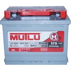 Автомобильный аккумулятор Mutlu 6СТ-60 R+ Series 2
