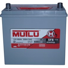 Автомобильный аккумулятор Mutlu 6СТ-60 L+ Jis Series 2 Mutlu 60L+ без юбки