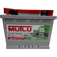Автомобильный аккумулятор Mutlu 6СТ-63 R+ EFB +Start Stop