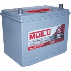 Автомобильный аккумулятор Mutlu 6СТ-75 L+ Jis Series 3