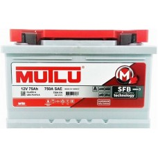 Автомобильный аккумулятор Mutlu 6СТ-75 R+ NK Series 3