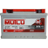 Автомобильный аккумулятор Mutlu 6СТ-78 L+ Series 3
