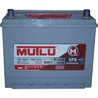 Автомобильный аккумулятор Mutlu 6СТ-80 L+ Jis Series 3