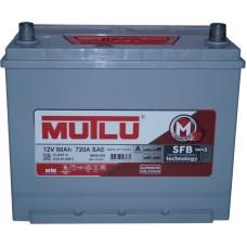 Автомобильный аккумулятор Mutlu 6СТ-80 L+ Jis Series 3 Mutlu 80L+ asia с юбкой