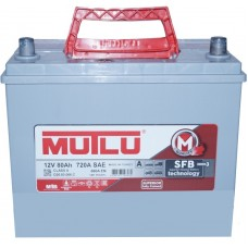 Автомобильный аккумулятор Mutlu 6СТ-80 L+ Jis Series 3 Mutlu 80L+ asia без юбки