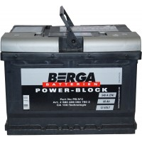 Автомобильный аккумулятор Berga 6СТ-60 R+ Power Block