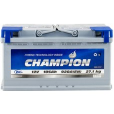 Автомобильный аккумулятор Champion 6СТ-105 R+ Standart